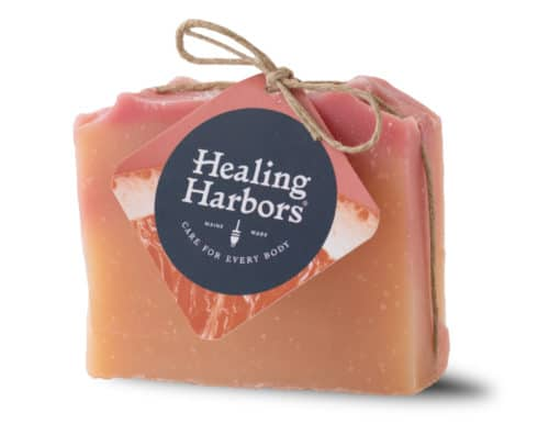 Grapefruit and Maine Sea Salt CBD Soap